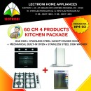 60 CM 4 Product Kitchen Package